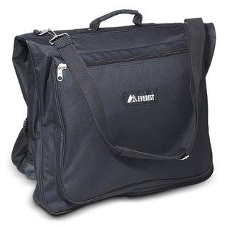 Everest Black 44-inch 600-denier Polyester Convenient Garment Bag (Option: Black)