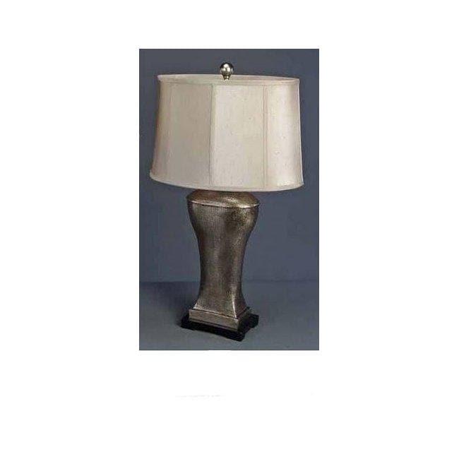Metallic Mosiac Traditional Table Lamp
