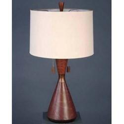Cinnamon Flask Casual Table Lamp