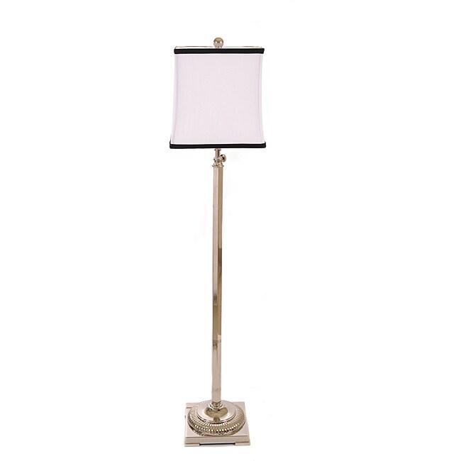 Altitude Adjustable 1-light Metal Contemporary Floor Lamp