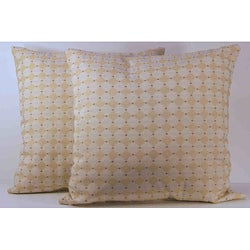 Korbel Sugar Cane Throw Pillows (Set of 2)