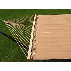 Grand Super 2-person Brown Quilted Hammock - Thumbnail 1