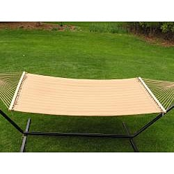 Grand Super 2-person Brown Quilted Hammock - Thumbnail 2
