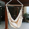 Handmade Cotton 'Life's a Balance' Hammock Swing (Brazil)
