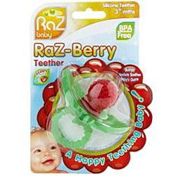 RazBaby Raz-berry Teether