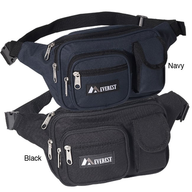 Everest 14-inch Signature Multiple Pocket Fanny Pack