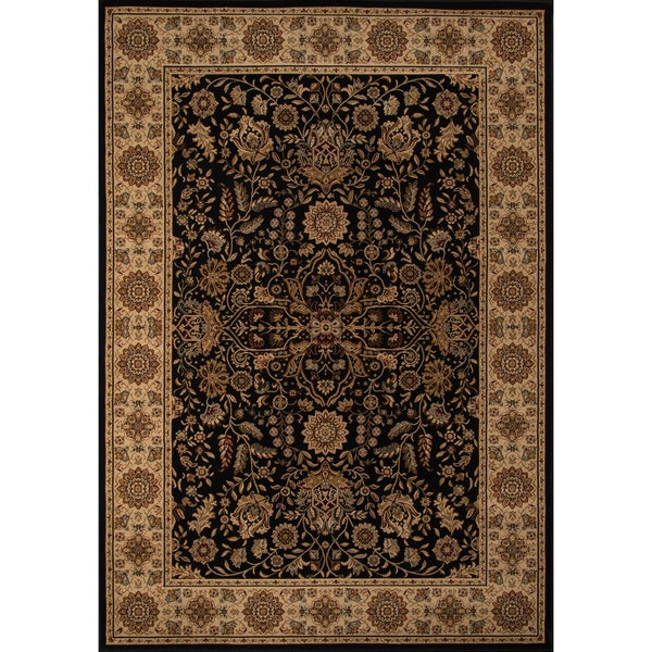 "Momeni Royal Black Rug - 5'3"" x 7'7"""