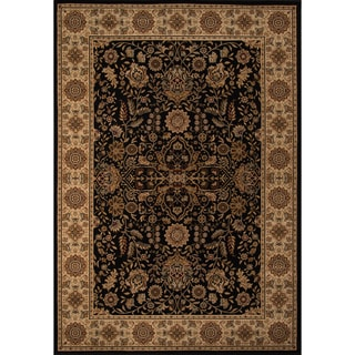 Westminster Kerman Black Area Rug (9'10 x 13'6)