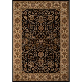 "Westminster Kerman Black Power-Loomed Rug (11'3"" x 15')"