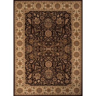 "Westminster Kerman Brown Power-Loomed Rug (11'3"" x 15')"