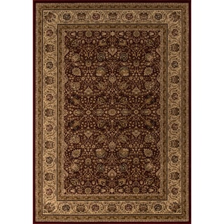 Westminster Kashan Red Area Rug (9'10 x 13'6)