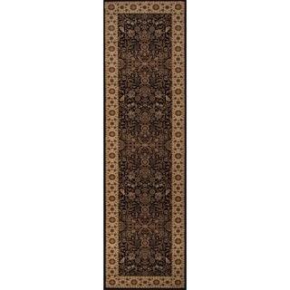 Westminster Kerman Black Area Rug (2'3 x 7'6)