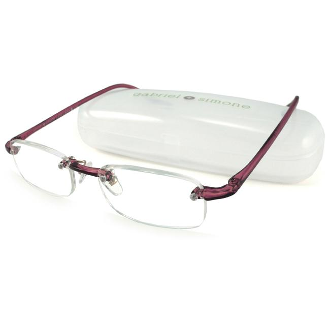 Gabriel+Simone Le Gel Burgundy Women's Reading Glasses