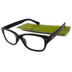 Gabriel+Simone Monsieur Men's Black Reading Glasses