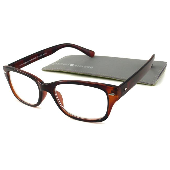 bd345b90c0a Gabriel+Simone Monsieur Tortoise Mens Reading Glasses 13704148 on ...