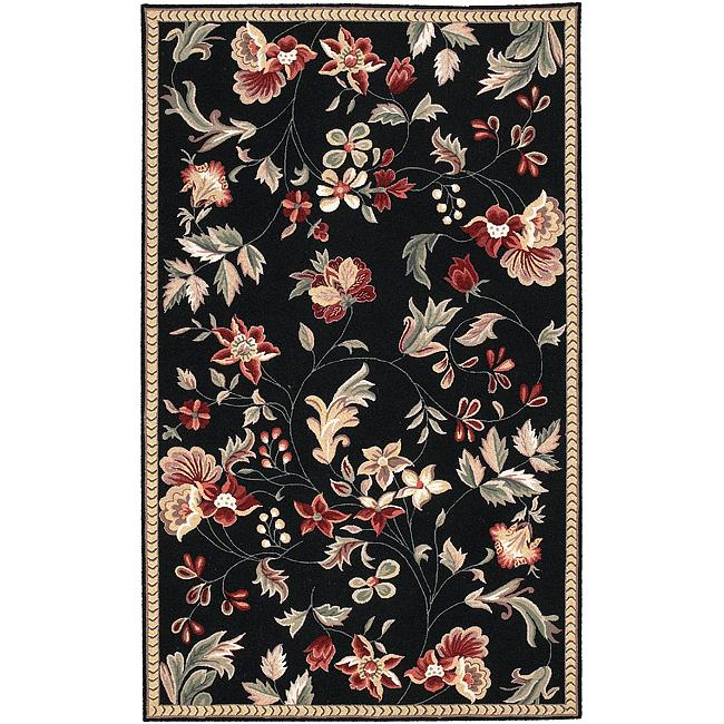 Hand-hooked Coolidge Wool Rug (3'6 x 5'6)