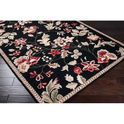 Hand-hooked Coolidge Wool Rug (3'6 x 5'6) - Thumbnail 1