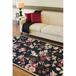 Hand-hooked Coolidge Wool Rug (3'6 x 5'6) - Thumbnail 2