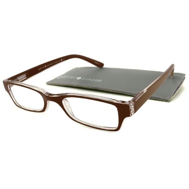 Gabriel+Simone Saint Germain Brown Men's Reading Glasses