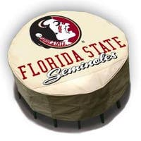 NCAA Florida State Seminoles Round Patio Set Table Cover