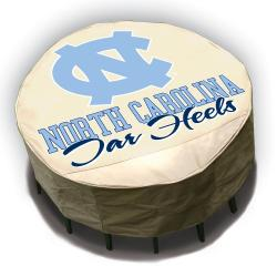 North Carolina Tar Heels Round Patio Set Table Cover