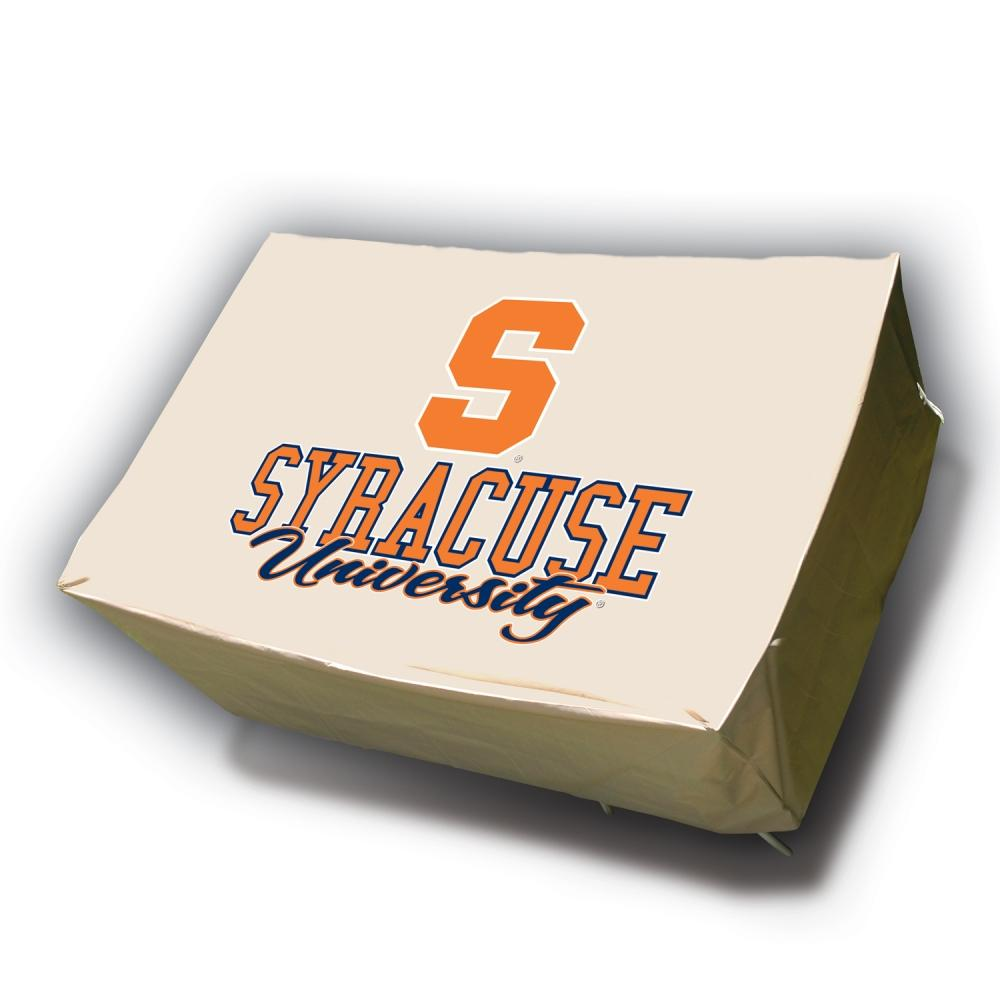 NCAA Syracuse Orangemen Rectangle Patio Set Table Cover