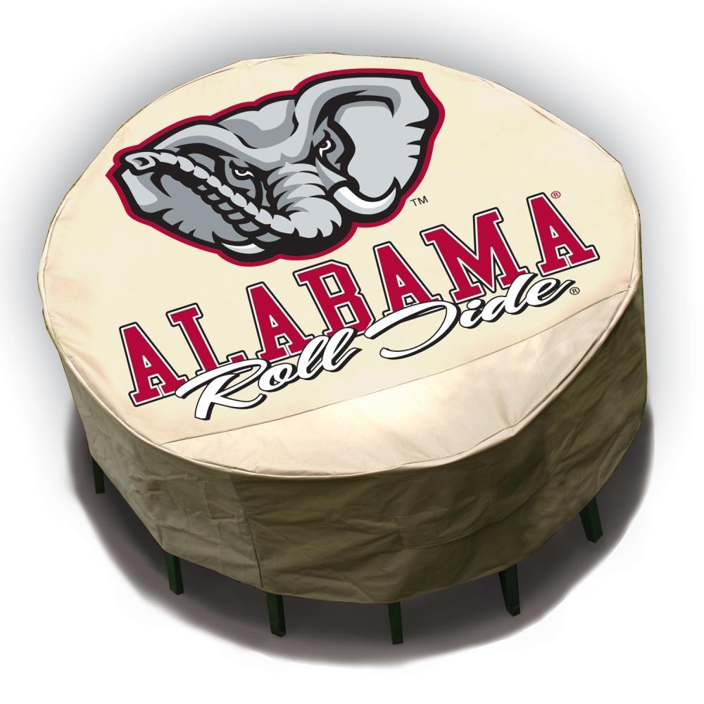 NCAA Alabama Crimson Tide Round Patio Set Table Cover