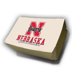 NCAA Nebraska Cornhuskers Rectangle Patio Set Table Cover