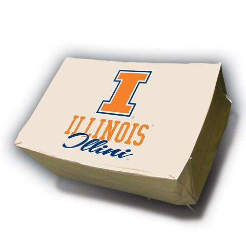 NCAA Illinois Fighting Illini Rectangle Patio Set Table Cover