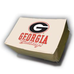 Georgia Bulldogs Rectangle Patio Set Table Cover - Thumbnail 0