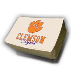 Clemson Tigers Rectangle Patio Set Table Cover