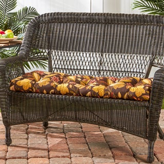 44-inch Outdoor Timberland Floral Swing/ Bench Cushion