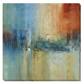 Simon Addyman 'Blue Cascade' Canvas Art