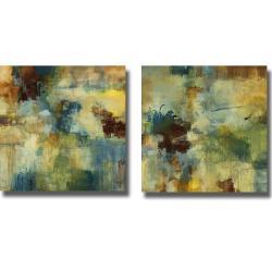 Randy Hibberd 'Skyliner I and II' 2-piece Canvas Art Set