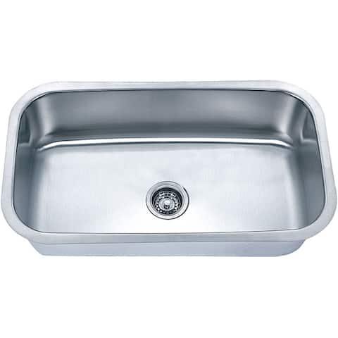 Fine Fixtures Undermount Stainless Steel Single Bowl Sink