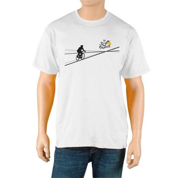 Le Tour de France Men's 'Poster' White Official T-Shirt