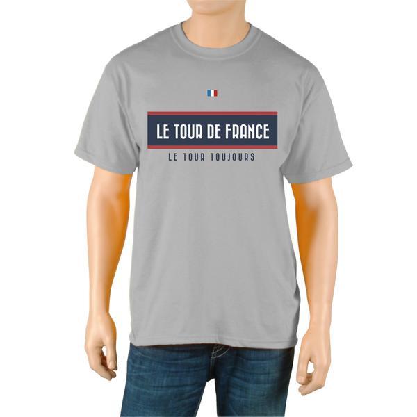 Le Tour de France Men's 'Vintage' Grey Official T-Shirt