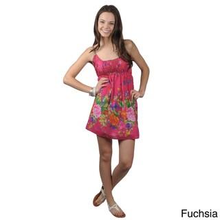 Journee Collection Juniors Cotton Floral Dress