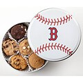 Mrs. Fields Boston Red Sox 18 Nibbler Cookies Tin