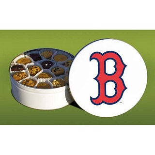 Mrs. Fields Boston Red Sox 96 Nibbler Cookies Tin