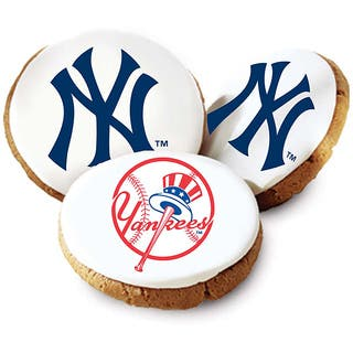 Mrs. Fields New York Yankees Logo Butter Cookies (Pack of 12) (Option: Mrs. Fields)|https://ak1.ostkcdn.com/images/products/6021852/P13704700.jpg?impolicy=medium