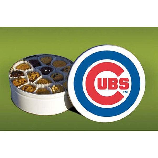 Mrs. Fields Chicago Cubs 96 Nibbler Cookies Tin