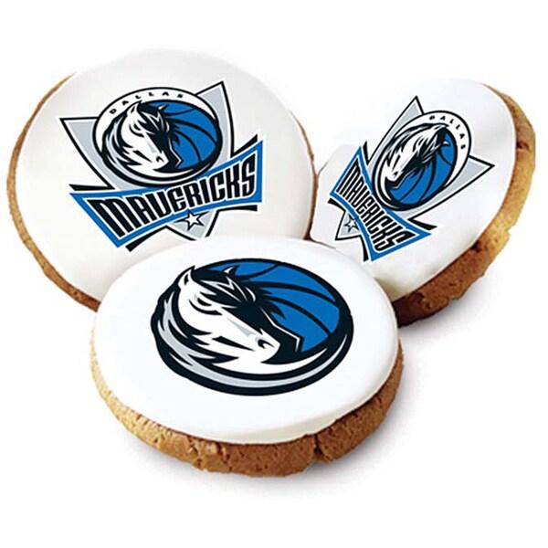 Mrs. Fields Dallas Mavericks Logo Butter Cookies (Pack of 12)