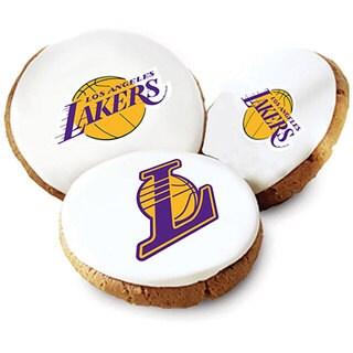 Mrs. Fields LA Lakers Logo Butter Cookies (Pack of 12)