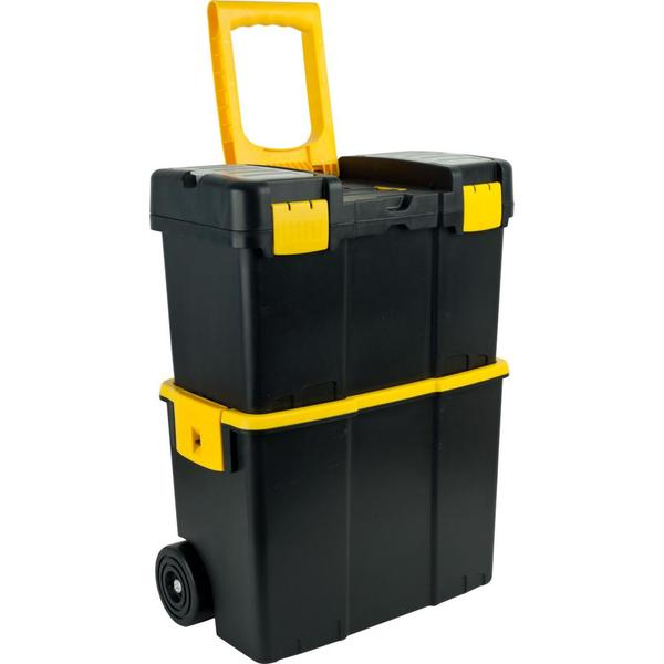 Trademark Tools Stackable Mobile Tool Box with Wheels