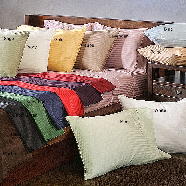 Superior 300 Thread Count Olympic Queen Deep Pocket Strip...