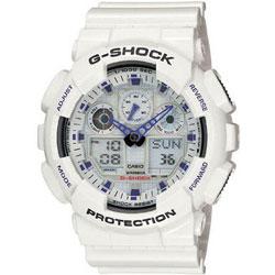Casio Men's 'G-Shock' X-Large White Analog/ Digital Watch