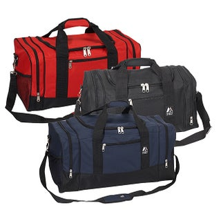 Everest 20-inch Sporty Gear Polyester Carry On Duffel Bag with Strap