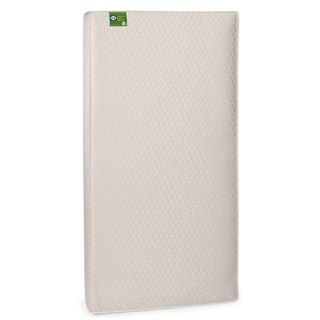 Sealy Soybean Plush Foam-core Crib Mattress with Waterproof Cover - Gold