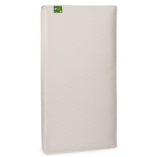 Sealy Soybean Plush Foam-core Infant Toddler Crib Mattress with Waterproof Cover